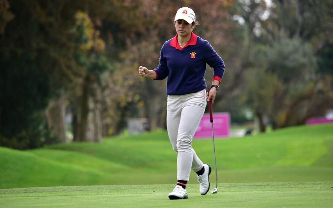 La amateur Ana Peláez, nueva estrella del golf femenino español