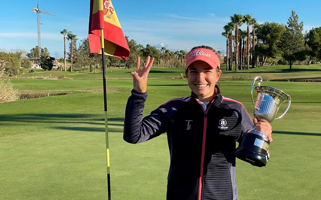 Luna Sobrón, campeona de España 2020 de la mano de Totgolf